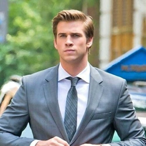 liam hemsworth business hairstyles