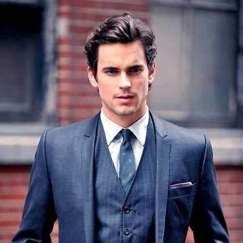 matt bomer business hairstyles