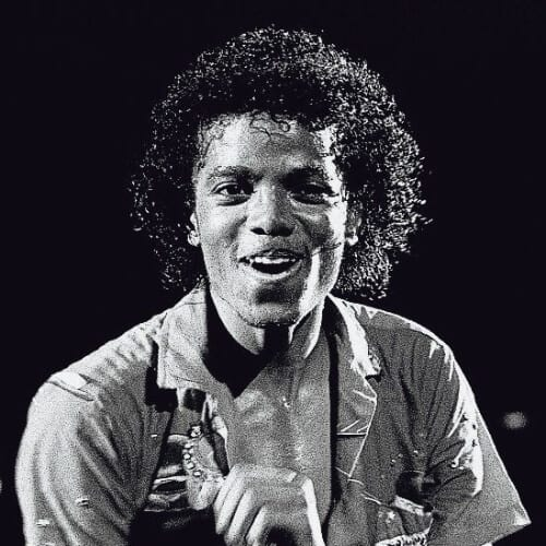 michael jackson curly hairstyles for black men