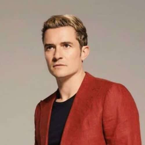 orlando bloom blonde men hairstyles