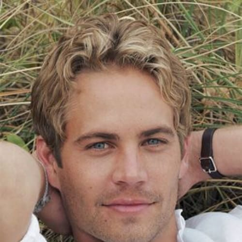 Paul Walker Blonde Men Hairstyles