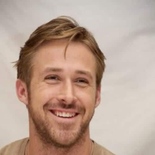 ryan gosling blonde men hairstyles