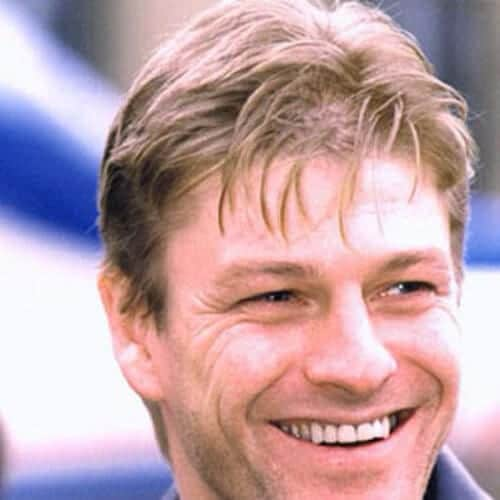 sean bean blonde men hairstyles