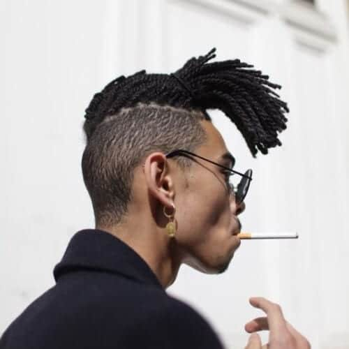 thin sideburn designs