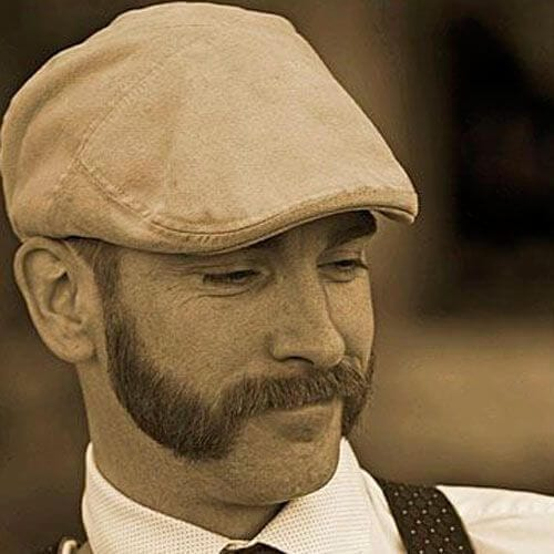 vintage mutton chops sideburn designs