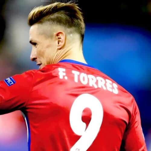 bald fade fernando torres haircut