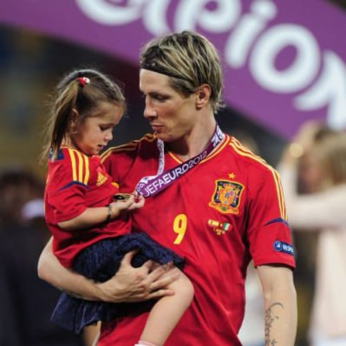 blonde medium fernando torres haircut