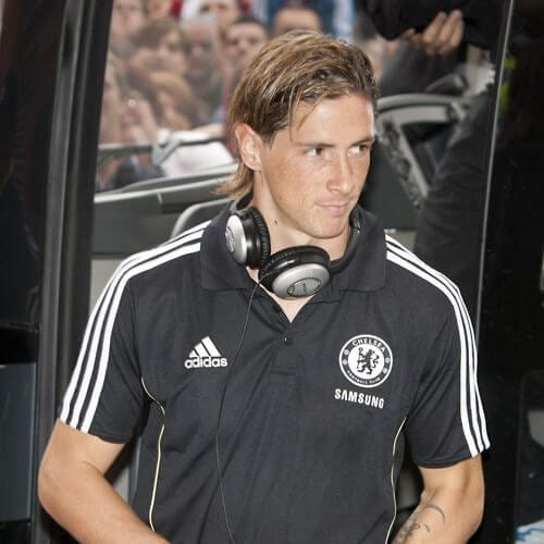 brown medium fernando torres haircut