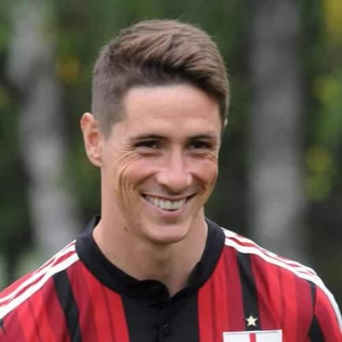 chestnut layered fernando torres haircut