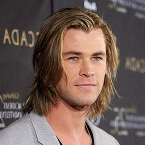 chris hemsworth layered haircuts for men