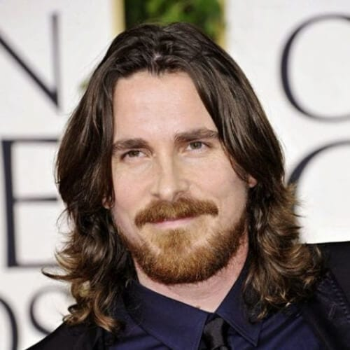christian bale layered haircuts for men