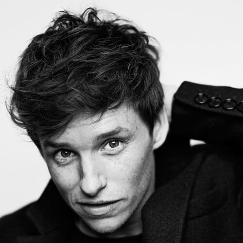 eddie redmayne layered haircuts for men