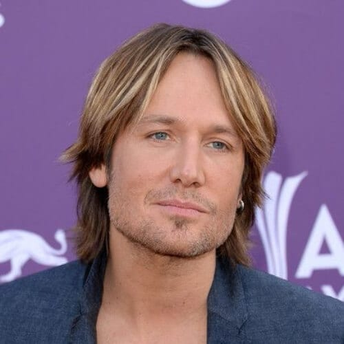 keith urban layered haircuts for men