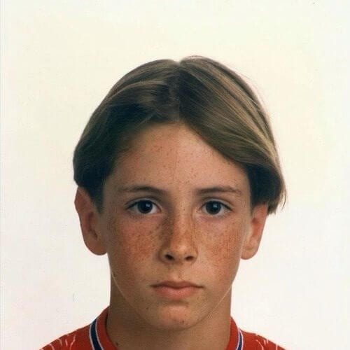 little fernando torres haircut