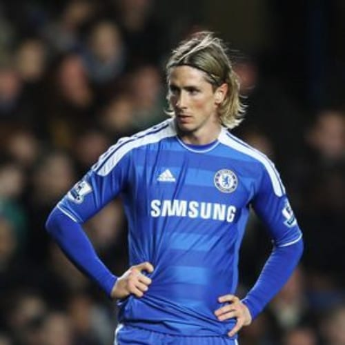 long fernando torres haircut