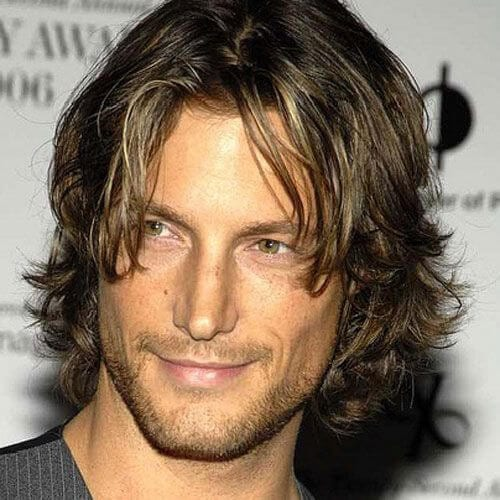 Beautiful Medium Layered Haircuts For Men Long Hairstyles With Mens