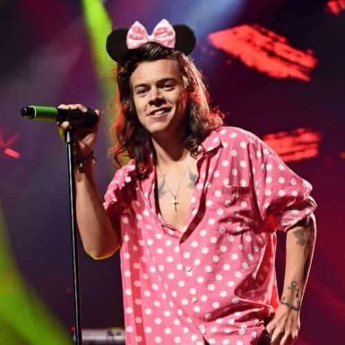 minnie mouse harry styles haircut