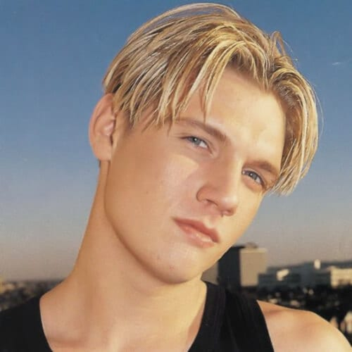 Nick Carter Layered Haircuts For Men