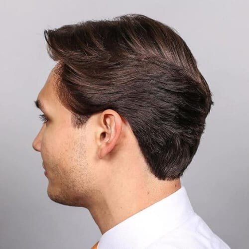 office layered haircuts for men