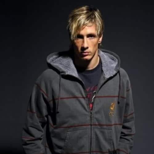 side bangs fernando torres haircut