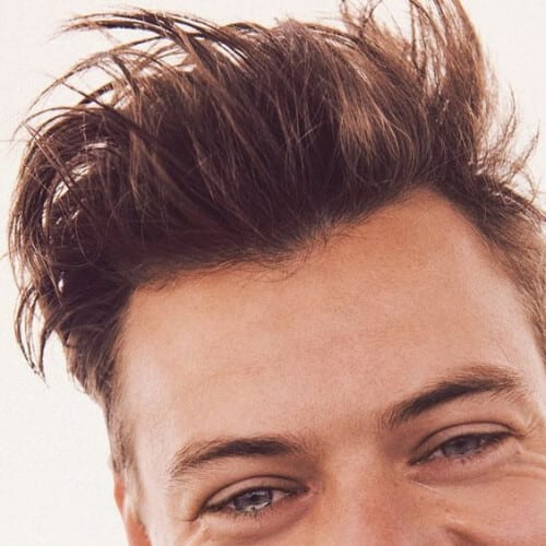 spikes harry styles haircut