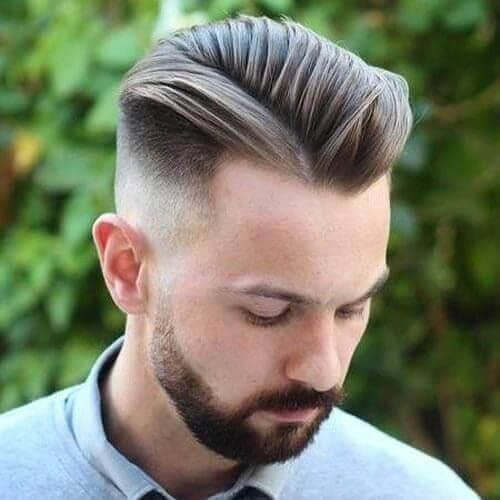 undercut layered haircuts for men