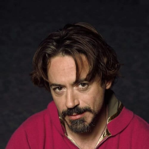 alternative robert downey jr haircut