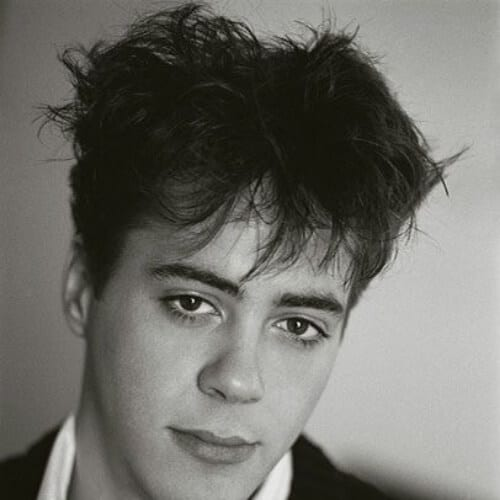 bed head robert downey jr haircut