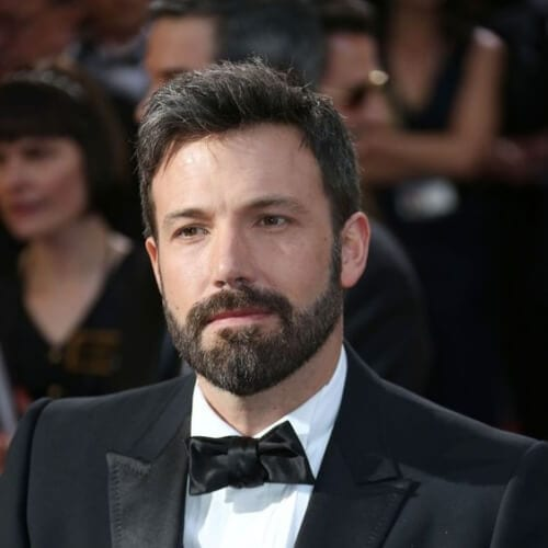 ben affleck hairstyles with beard