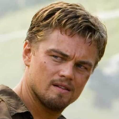 blood diamond leonardo dicaprio hairstyles