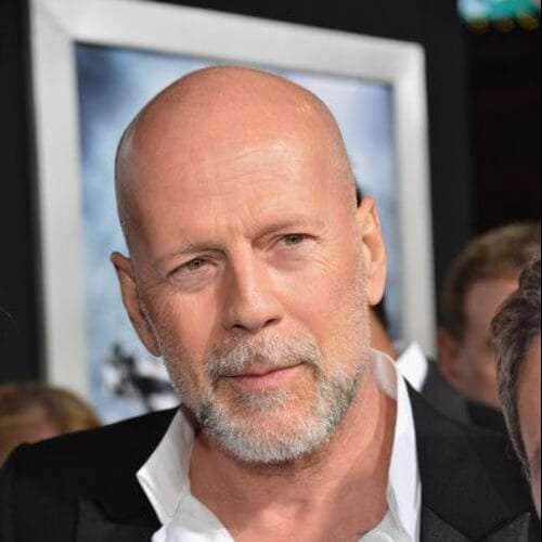 bruce willis hairstyles with beard
