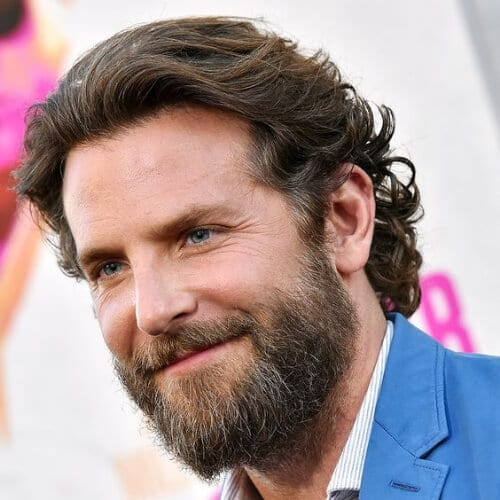 bushy beard bradley cooper hairstyles