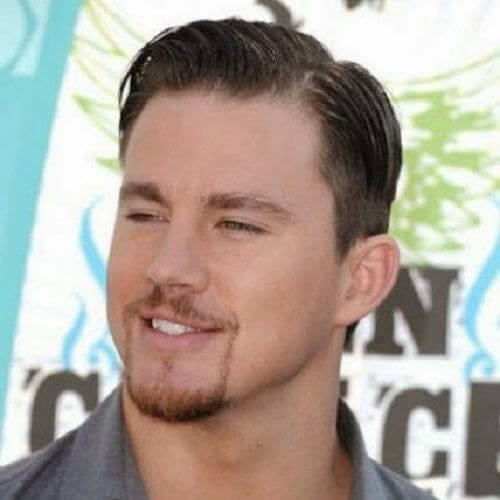 channing tatum hairstyles with beard