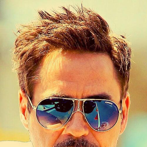 chestnut spikes robert downey jr haircut