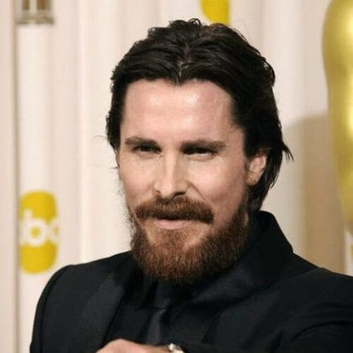 christian bale hairstyles with beard