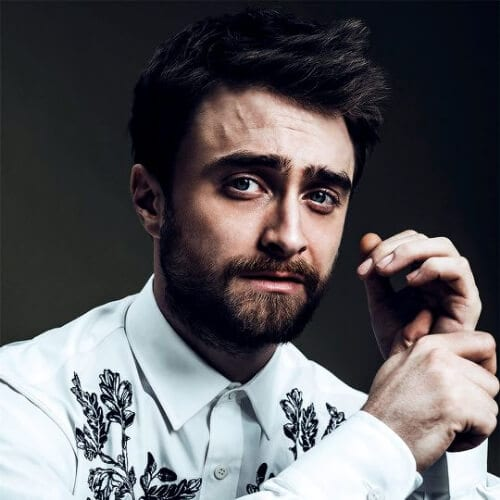 daniel radcliffe hairstyles with beard