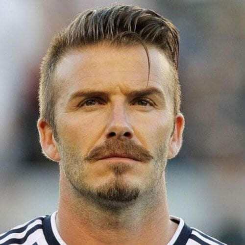david beckham hairstyles with beard