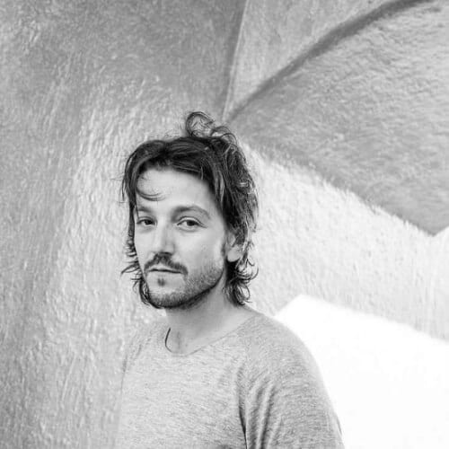 diego luna hairstyles with beard