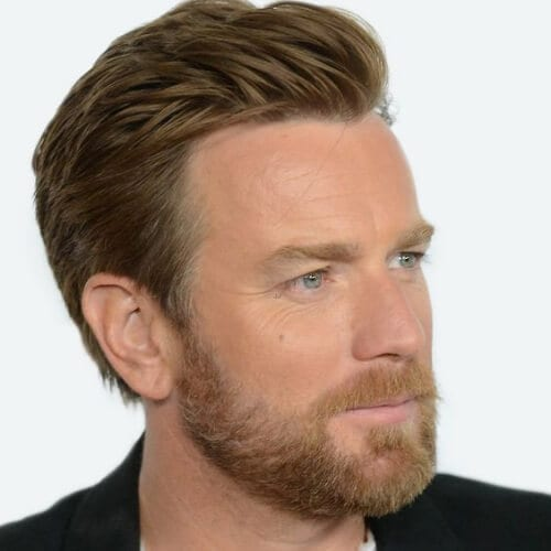 ewan mcgregor hairstyles with beard