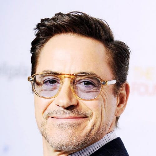 gentleman robert downey jr haircut