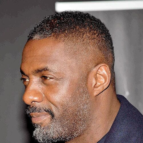 idris elba hairstyles with beard