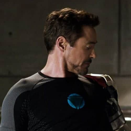 ironman 3 robert downey jr haircut