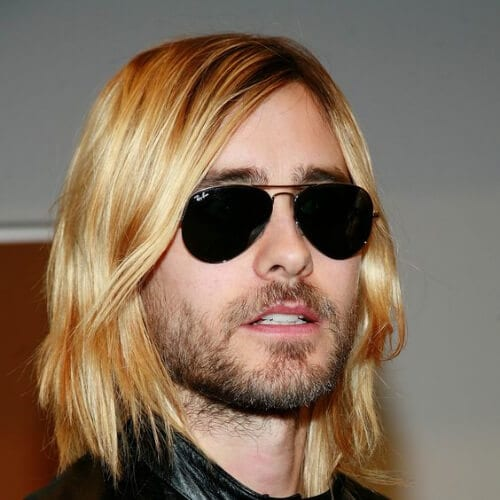 jared leto hairstyles with beard