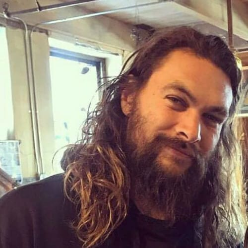 Jason Momoa Shaves His Signature Beard: 50 Celebrity Inspired Hairstyles With Beard