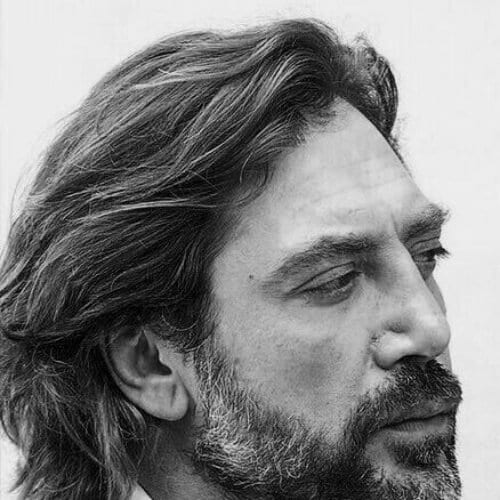 javier bardem hairstyles with beard