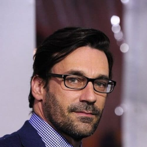 jon hamm hairstyles with beard