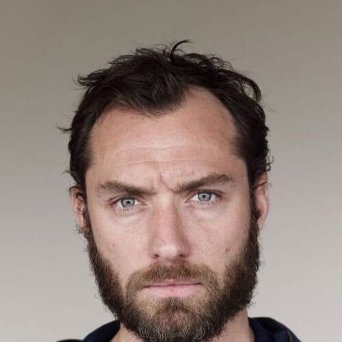 jude law hairstyles with beard