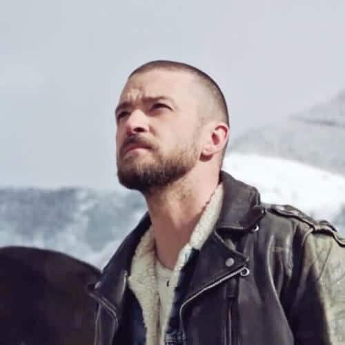 justin timberlake hairstyles with beard
