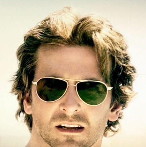 layered bradley cooper hairstyles