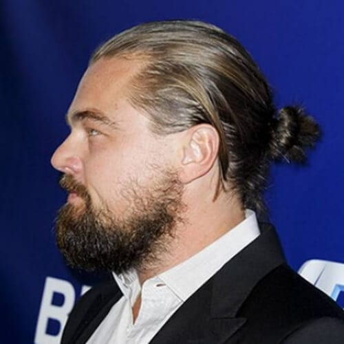 leonardo dicaprio hairstyles with beard